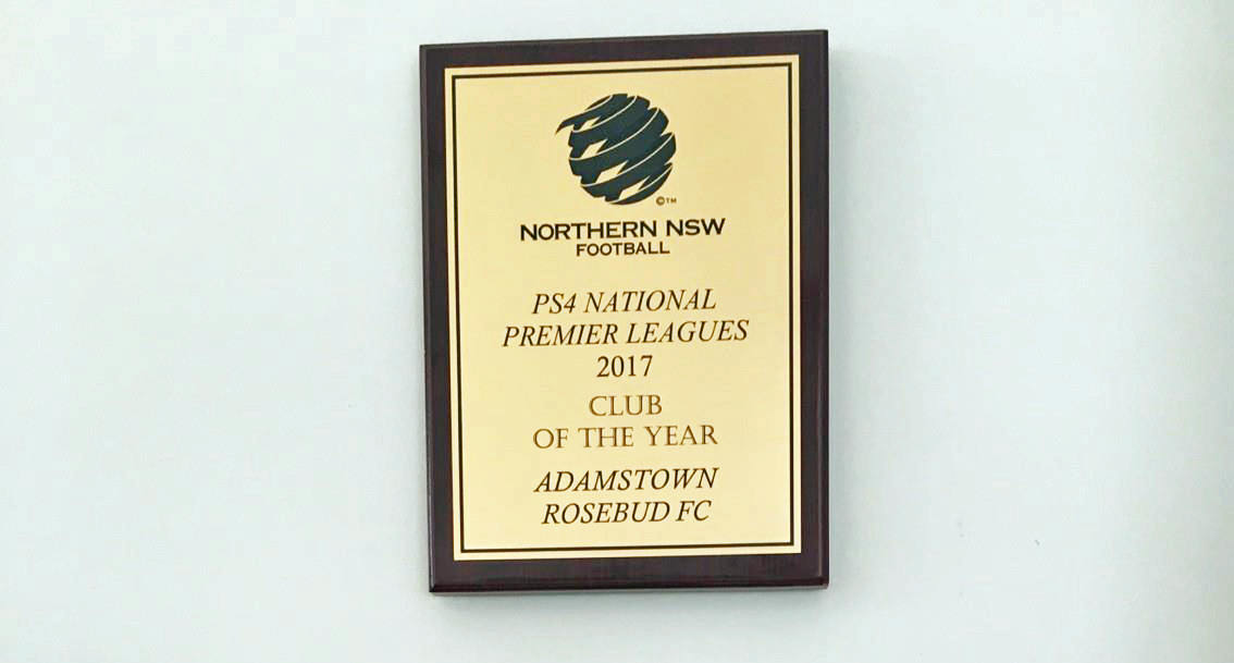 2017 NPL club of the year award