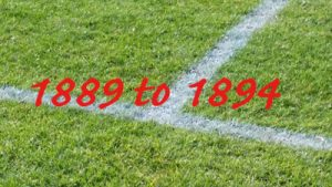 1889 to 1894