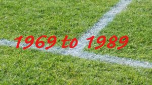 1969 to 1989