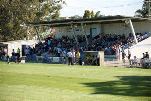 Adamstown Oval grandstand