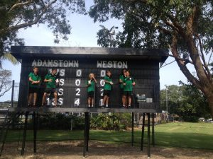 ARFC scoreboard volunteers 2016