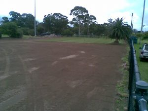 Construction of training pitch