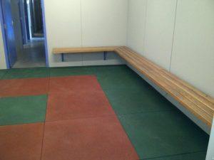Refurbished change room