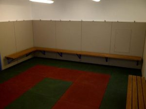 Refurbished change room