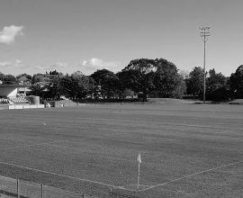 ARFC home ground B/W